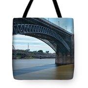 The Eads Bridge Tote Bag