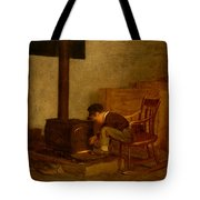 The Early Scholar Tote Bag