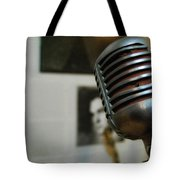 The Elvis Mic Tote Bag by JAMART Photography