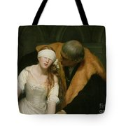 The Execution Of Lady Jane Grey Tote Bag