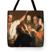 The Executioner With The Head Of John The Baptist Tote Bag