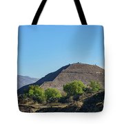 The Famous Pyramid Of The Sun Tote Bag