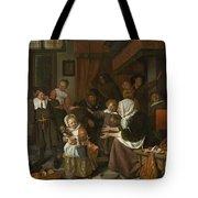 The Feast Of St. Nicholas Tote Bag