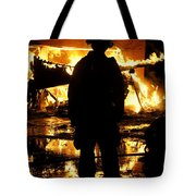 The Fireman Tote Bag by Benanne Stiens