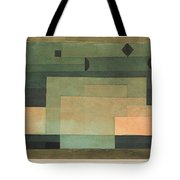The Firmament Above The Temple Tote Bag