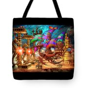 The Fleet Has Arrived Tote Bag
