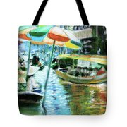 The Floating Market Tote Bag