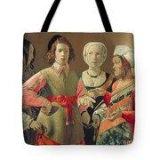 The Fortune Teller Tote Bag by Georges de la Tour