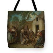 The Four Ages Of Man   Old Age Tote Bag