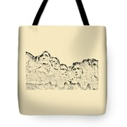 The Four Presidents Tote Bag