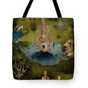 The Garden Of Earthly Delights Left Wing - Paradise Hieronymus Bosch Tote Bag