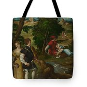 The Garden Of Love Tote Bag