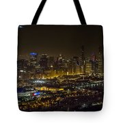 The Grateful Dead At Soldier Field Fare Thee Well Tour Aerial Photo Tote Bag