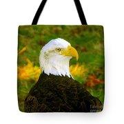 The Great Bald Eagle Tote Bag