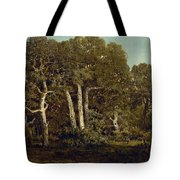 The Great Oaks Of Old Bas-breau Tote Bag