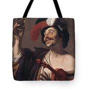 The Happy Violinist Tote Bag
