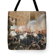 The Haymarket Riot, 1886 Tote Bag by Granger
