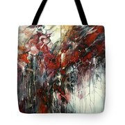 The Heart Of Chaos Tote Bag