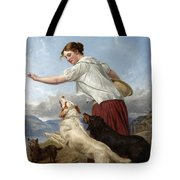 The Highland Lassie Tote Bag