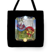 The Holly King And The Oak King Tote Bag