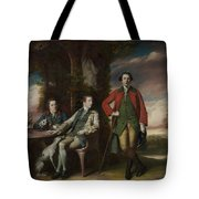 The Honorable Henry Fane With Inigo Jones And Charles Blair Tote Bag