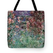 The House Among The Roses Tote Bag