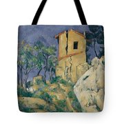 The House With The Cracked Walls Tote Bag