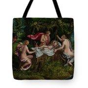 The Infancy Of Jupiter Tote Bag