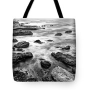 The Jagged Rocks And Cliffs Of Montana De Oro State Park Tote Bag