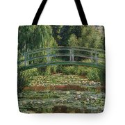 The Japanese Footbridge And The Water Lily Pool Giverny Tote Bag
