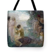 The Judgement Of Paris Tote Bag