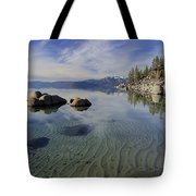 The Language Of Sands  Tote Bag