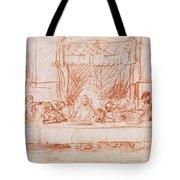 The Last Supper, After Leonardo Da Vinci Tote Bag