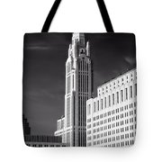 The Leveque Tower Of Columbus Ohio Tote Bag