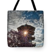 The Light Through The Pagoda Tote Bag