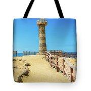 The Lighthouse In Salinas, Ecuador Tote Bag