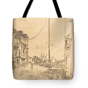 The Little Mast Tote Bag
