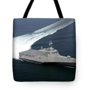 The Littoral Combat Ship Independence Tote Bag
