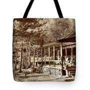 The Lodge Tote Bag