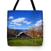 The Log Barn Tote Bag