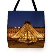 The Louvre Art Museum Tote Bag