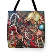 The Lure Of Superstition Tote Bag