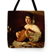 The Lute-player Tote Bag