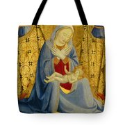 The Madonna Of Humility Tote Bag
