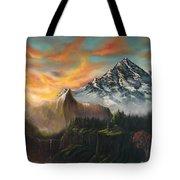 The Majestic Mountain Tote Bag