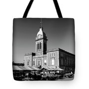 The Market Hall, Market Square, Chesterfield Town, Derbyshire Tote Bag
