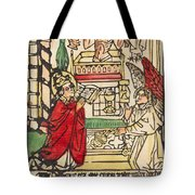 The Mass Of Saint Gregory Tote Bag