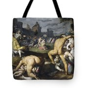 The Massacre Of The Innocents, 1590 Tote Bag