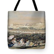 The Meadow Of San Isidro Tote Bag