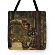 The Merciful Knight Tote Bag